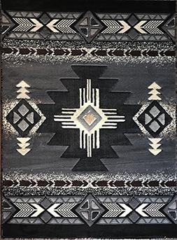 Concord Global Trading Southwest Native American Area Rug Gr