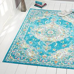 Home Dynamix Splash Andre 5'2 x 7'2 Area Rug Blue