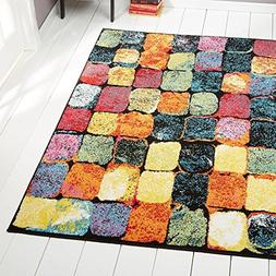Home Dynamix Splash Cosmo 3'3 x 4'3 Area Rug Multi-Colored