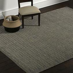 "Stone & Beam Casual Geometric Wool Area Rug 10' 6"" x 8' Char"