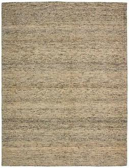 "Stone & Beam Contemporary Speckle Wool Rug, 5' x 7'6"", Grey"