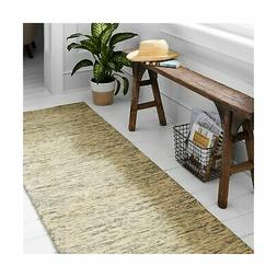 stone and beam contemporary speckle wool runner