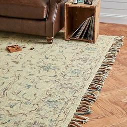 Stone & Beam Serene Tassled Wool Area Rug, 8' x 10', Multi 8