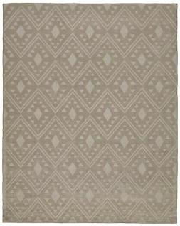 Stone & Beam Shooting Star Modern Diamond Wool Area Rug, 5'