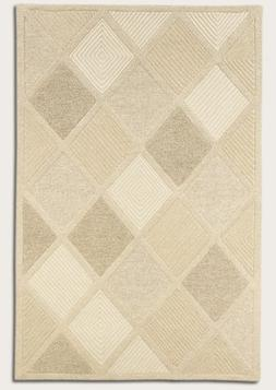 Couristan Super Indo-Natural Austin White Area Rug