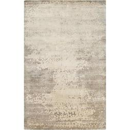Art of Knot Tajimi Area Rug, 2' x 3', Cream/Taupe/Medium Gra