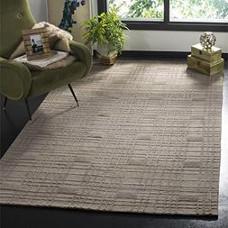 Safavieh Tibetan Collection TB120D Hand-Knotted Slate Wool A