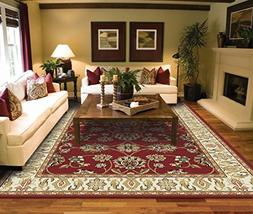 Red Area Rugs for Living Room Area Rugs 5x7 clearance Under