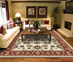 Traditional Ivory Area Rugs for Living Room Area Rugs 5x7 cl