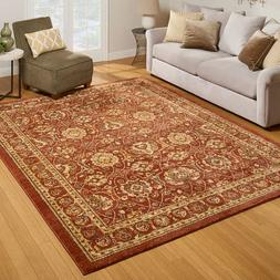 Traditional Area Rug Pattern Audubon Spice Size 63 x 84 Inch