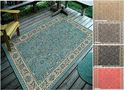 traditional oriantal indoor and outdoor area rug