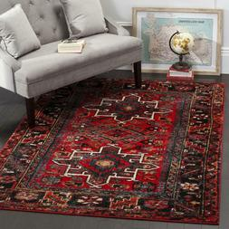 Traditional Oriental Tribal Medallion Red Area Rug **FREE SH
