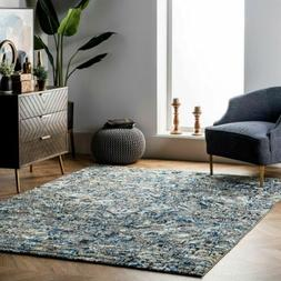 nuLOOM Traditional Paisley Abstract Area Rug in Grey, Blue,
