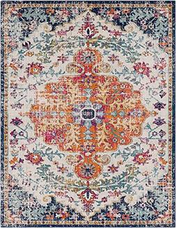 """Surya Traditional Rectangle Area Rug 7'10""""x10'3"""" in Neutral-"""