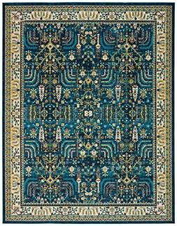 "Stone & Beam Traditional Royal Rug, 3'11"" x 5'11"", Teal"