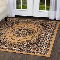 Home Dynamix Premium Traditional Rug, Sand