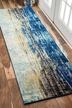 nuLOOM Traditional Vintage Abstract Waterfall Area Rugs