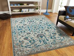 AS Quality Rugs Traditional Vintage Area Rug Distressed Rugs