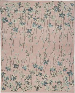 Nourison Tranquil 8' X 10' Pink Area Rugs 099446484741