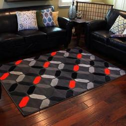 ~Trendz Contemporary Geometric Pattern Abstract Modern Area