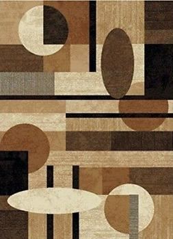 "Home Dynamix Tribeca Jasmine 1'9""x7'2"" Area Rug in Brown"