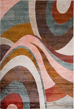 "Home Dynamix Tribeca Slade 9'2"" x12'5 Area Rug Multi-Colored"