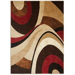 "Home Dynamix Tribeca Slade Area Rug 6'7""x9'10"", Abstract Bro"