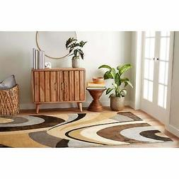"Home Dynamix Tribeca Slade Area Rug 5'2""x7'2"", Abstract Brow"