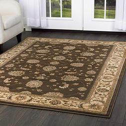 Home Dynamix Triumph Fawn 2'2 x 7'6 Runner, Brown/Beige