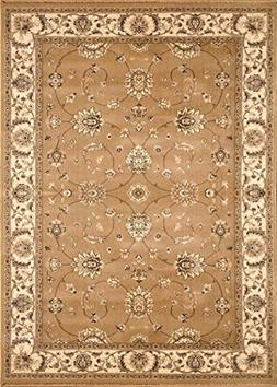 Home Dynamix Triumph Fawn 9'2 x 12'5 Area Rug in Gold