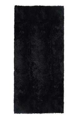 ACTCUT Ultra Soft 4.5 cm Thick Indoor 2.5-Feet*5-Feet, Black