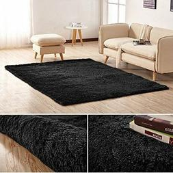 Junovo Ultra Soft Contemporary Fluffy Indoor Area Rugs, Home