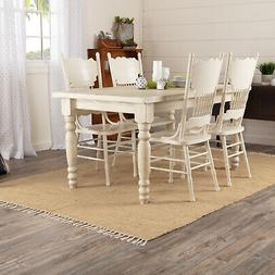 Unknown 15060 VHC Natural Tan Farmhouse Classic Country Floo
