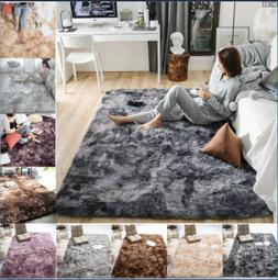USA Soft Fluffy Rugs Large Shaggy Area Rug Living Rooms Bedr