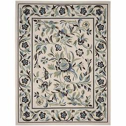 Safavieh Veranda Indoor/Outdoor Cream/ Teal Area Rug - 8' x