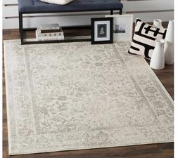Safavieh Vintage Distressed Ivory Silver Area Rug 8'x10' car