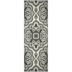 Maples Rugs Runner Rug - Vivian 2 x 6 Non Skid Hallway Carpe