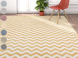 Wandering Chevron Yellow Zig Zag Modern Casual Geometric Are